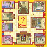 USAopoly Bob's Burgers Clue