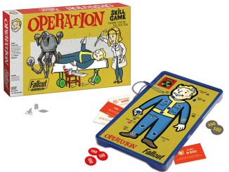 USAopoly Fallout Operation Game