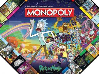 USAopoly Rick & Morty Monopoly