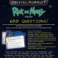 USAopoly Rick and Morty Trivial Pursuit