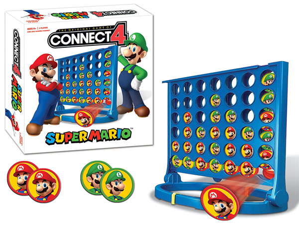 USAopoly Super Mario Connect 4 Game