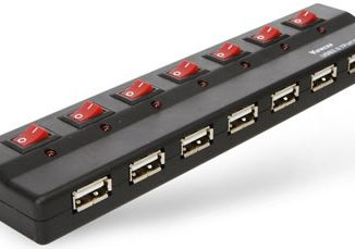 USB 7 Port Hub with Power Switches