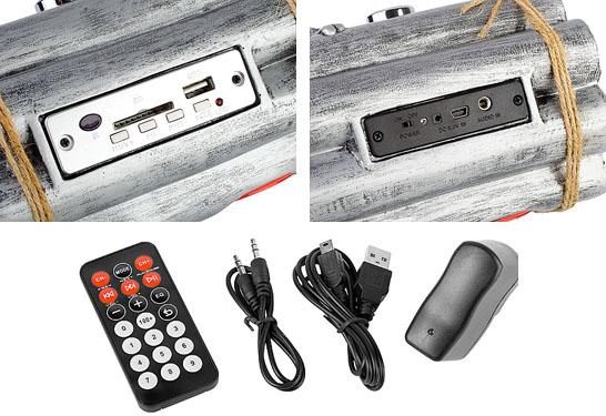 USB Bombshell MP3 Player Image