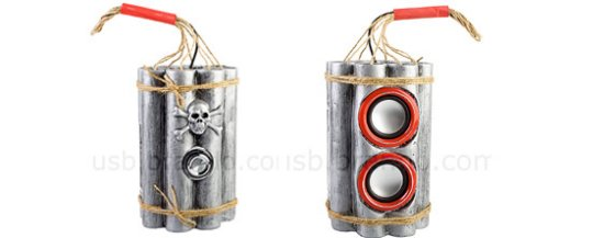 USB Bombshell MP3 Player
