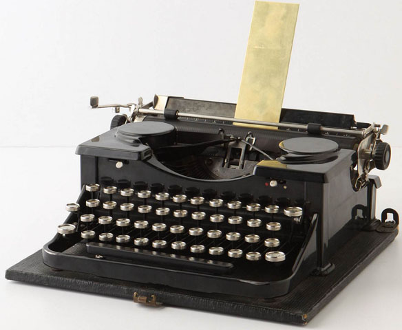 Old School Type-writer