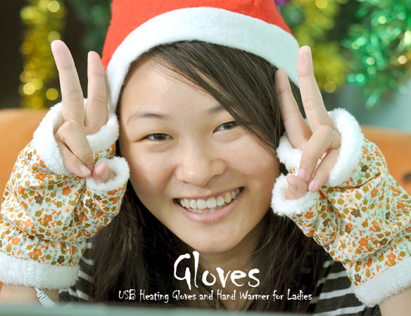 USB Heated Gloves and Hand Warmer for Women