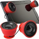 USB Portable Mini Stereo Suction Mount Speakers