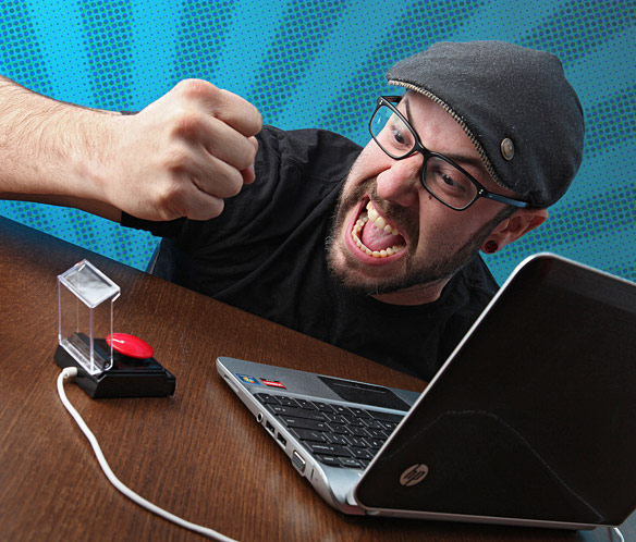 USB Powered Rage Relief Device