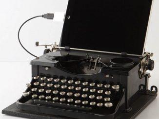 USB Royal Typewriter
