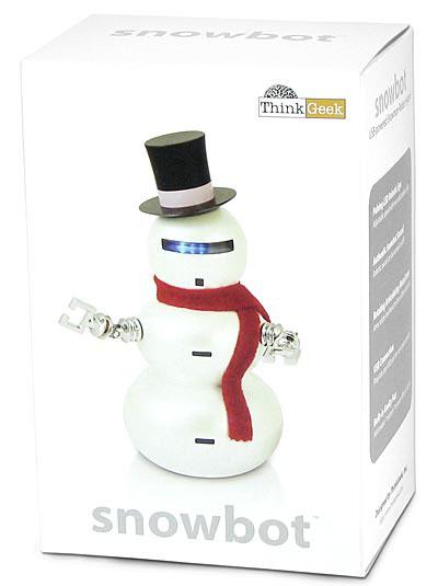 USB snowman robot