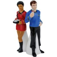 Uhura and McCoy Salt and Pepper Shakers