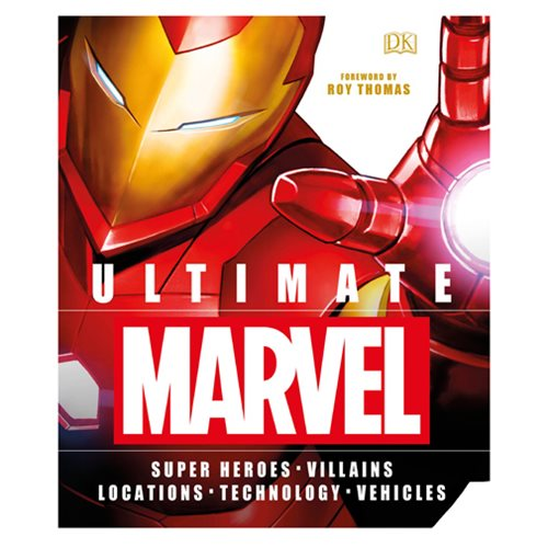Ultimate Marvel Super Heroes Villains Locations Technology Vehicles Hardcover Book