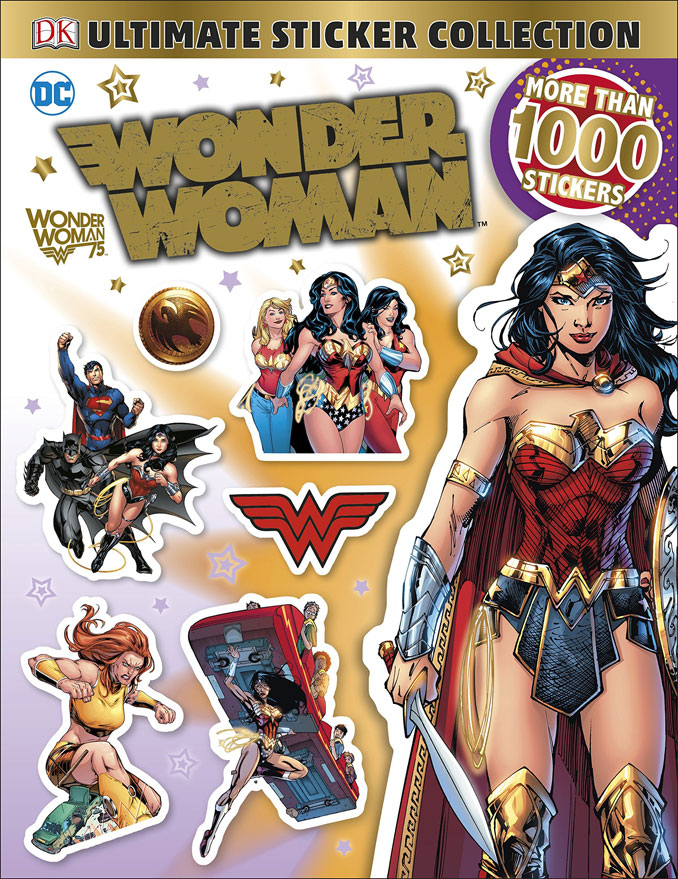 Ultimate Sticker Collection DC Comics Wonder Woman