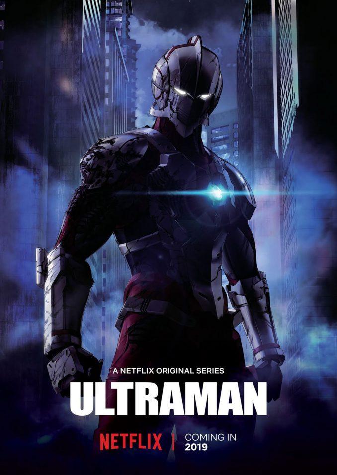 Ultraman Netflix Poster