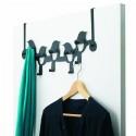 Umbra Birdseye Steel Over-The-Door Multi-Hook