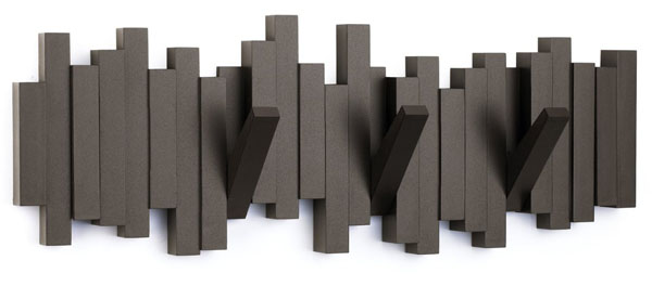 Umbra Sticks Wall-Mount Rack with Five Hooks