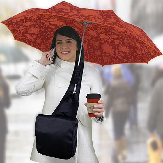 Umbrella Messenger Bag
