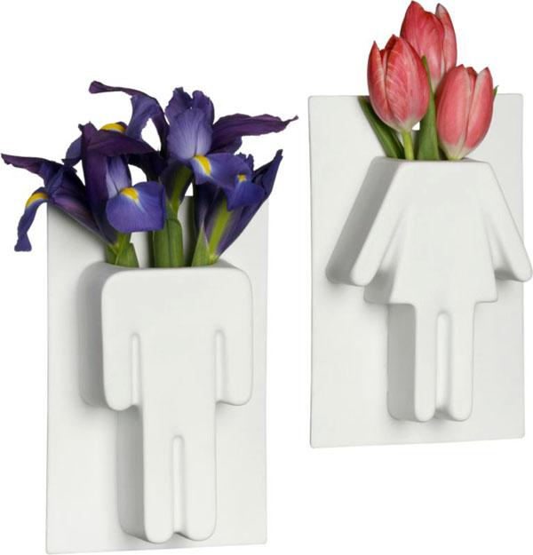Un Homme/Une Femme Vases