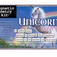 Unicorn Lover - Magnetic Poetry