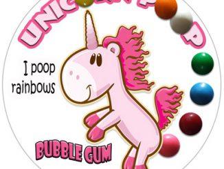 Unicorn Poop Bubble Gum