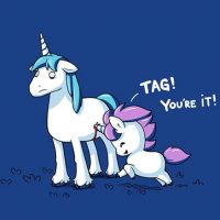 Unicorn Tag T-Shirt