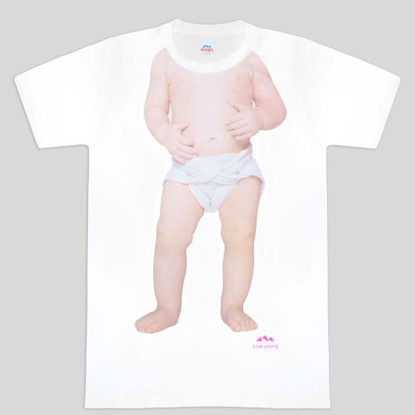 Unisex Limited Edition Evian Baby Nicolas Tee