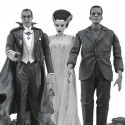 Universal Monsters Black-and-White Action Figure Box Set