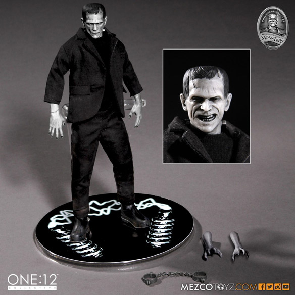 Universal Monsters Frankenstein 1-12 Scale Collective Action Figure small