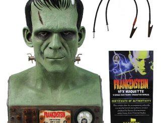 Universal Monsters Frankenstein VFX Head 1 1 Scale Bust