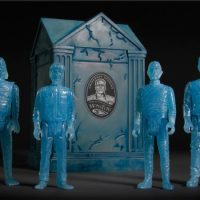 Universal Monsters ReAction Blue Glow Action Figures with Crypt