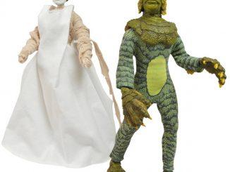 Universal Monsters Series 3 Retro Cloth Action Figure Set
