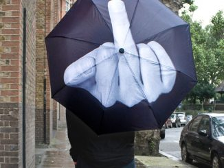 Up Yours Umbrella
