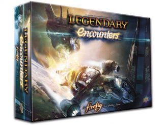 Upper Deck Legendary Encounters Firefly Deck Building Game