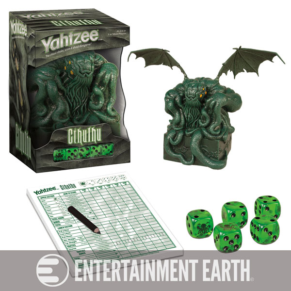 Usaopoly Cthulhu Collector's Edition Yahtzee Game