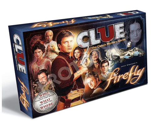 Usaopoly Firefly Clue Game