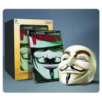 V For Vendetta Graphic Novel and V Mask
