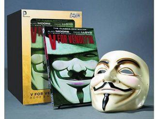 V For Vendetta Graphic Novel and V Mask