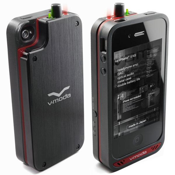 V-MODA VAMP Headphone Amplifier (150mW x 2), DAC, Battery Pack for iPhone