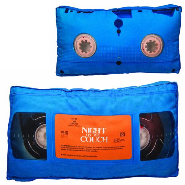 VHS Tape Retro 3D Pillow