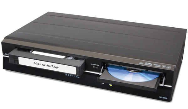 with the VHS To DVD Converter for $289.95 from Hammacher Schlemmer