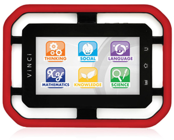 VINCI Tab II Touch Screen Learning Tablet