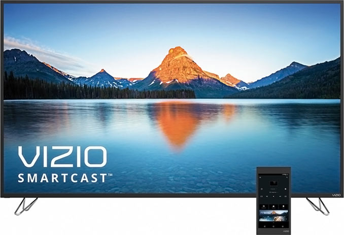 "VIZIO M50-D1 50"" Chromecast 4K Ultra HD Home Theater Display"