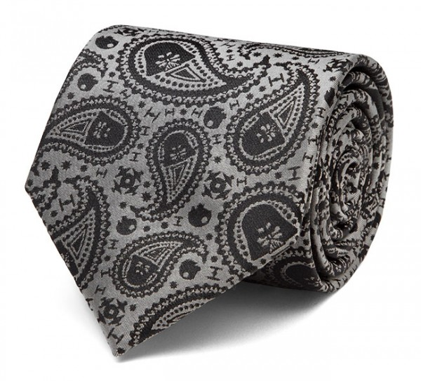 Star Wars Darth Vader Paisley Silk Tie