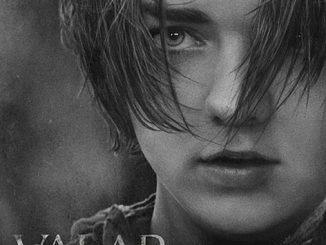 Valar Morghulis with Arya Poster