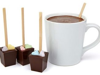Valentine Hot Chocolate on a Stick