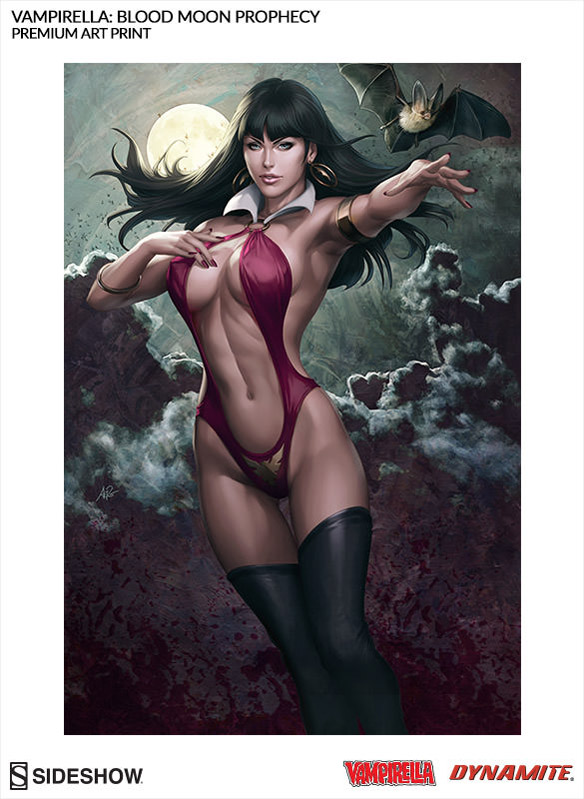 Vampirella Blood Moon Prophecy Premium Art Print