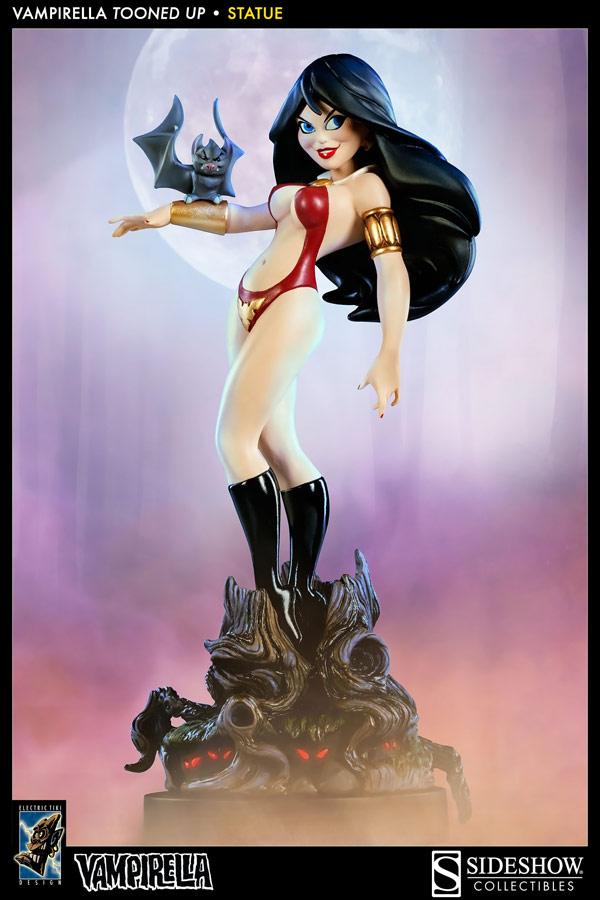 Vampirella Tooned Up Statue