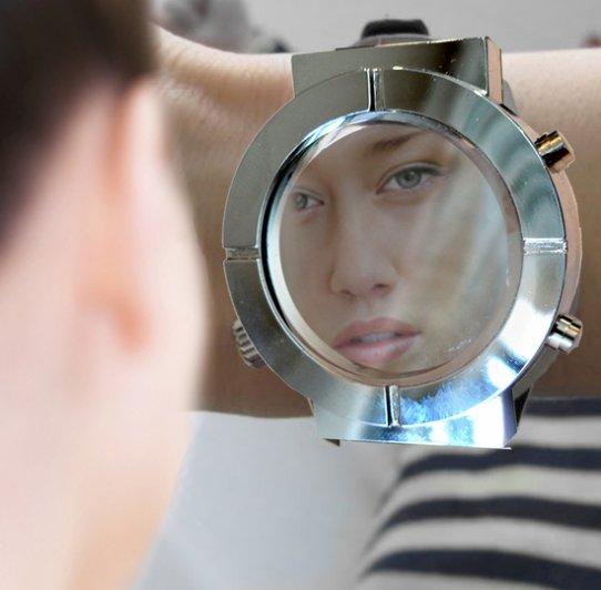 Vanity Mirror Watch