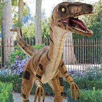 Velociraptor Yard Statue