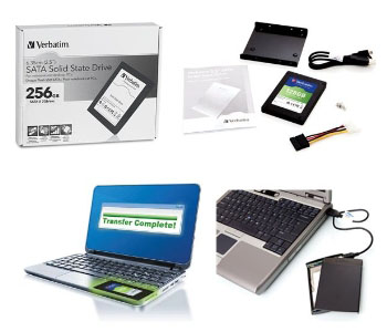 Verbatim SATA Solid State Drives and Upgrade Kits